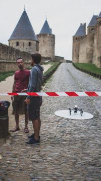 AERIAL_Studio_tournage_ARTE_Carcassonne
