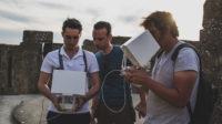 AERIAL_Studio_tournage_ARTE_Carcassonne_tour