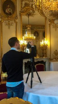 AERIAL Studio réalise une visite FI+ au palais de l'Elysée